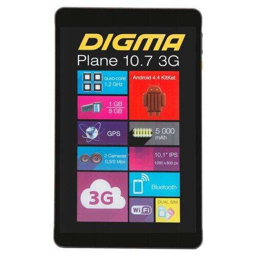 Планшет DIGMA Plane 10.7 3G планшет