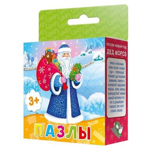 Пазл ГеоДом Новый год Дед Мороз fenix дед мороз водораскраска пазл