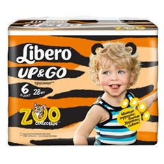 Libero Up & Go Zoo Collection 6 (13-20 кг)