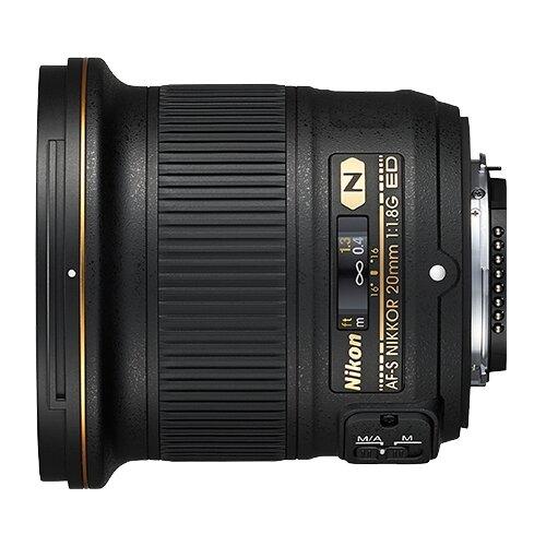 Фото - Объектив Nikon 20mm f 1.8G ED объектив