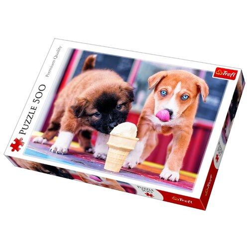 Пазл Trefl Время для мороженого trefl пазл приключения смурфов 30 maxi деталей trefl