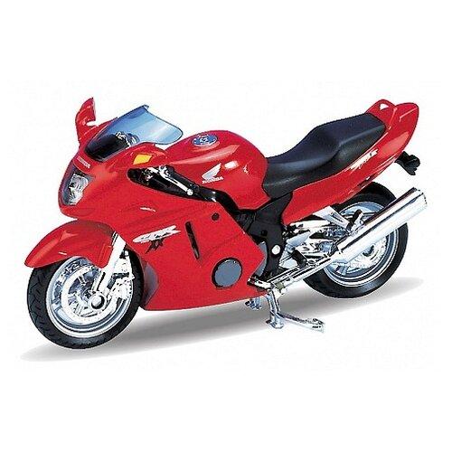 Мотоцикл Welly Honda CBR1100 XX welly мотоцикл honda hornet
