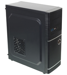Компьютерный корпус ACCORD A-301B w/o PSU Black