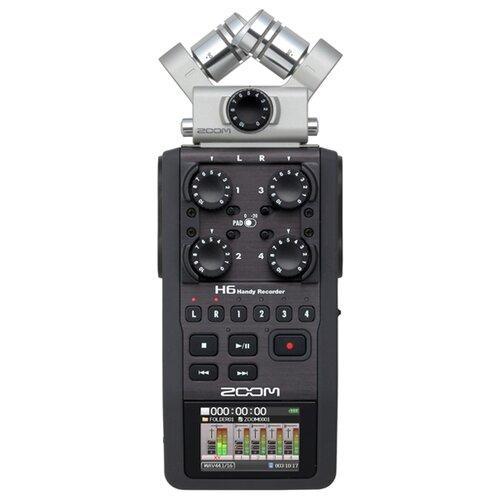 Портативный рекордер Zoom H6 портативный рекордер zoom блок насадка exh 6