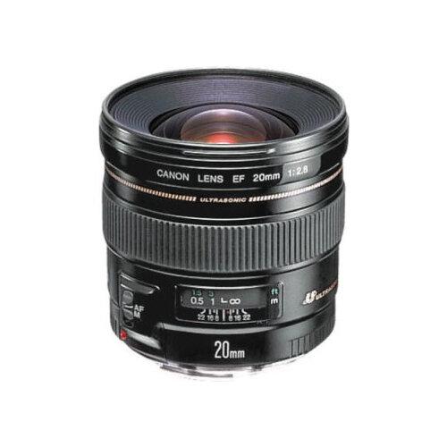 Фото - Объектив Canon EF 20mm f 2.8 USM объектив canon ef 85mm f 1 8 usm