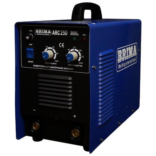Сварочный аппарат BRIMA ARC-250 сварочный аппарат brima arc 165