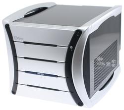 Компьютерный корпус Aopen G325 400W Black/silver