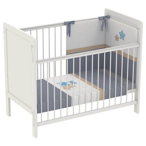 Кроватка Polini Simple 220 кроватка polini simple белый синий