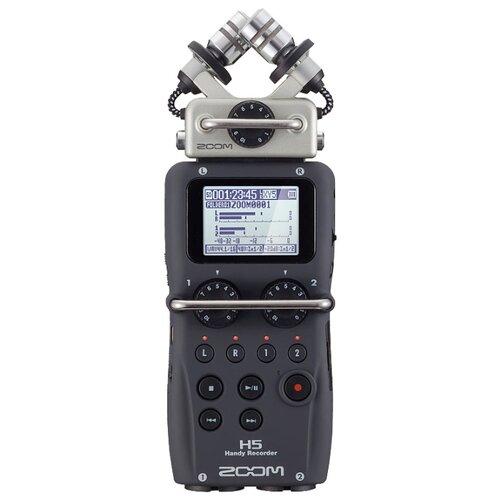 Портативный рекордер Zoom H5 портативный рекордер zoom блок насадка exh 6