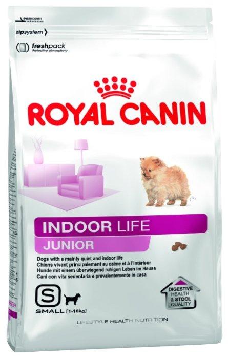 Корм royal canin junior indoor life junior