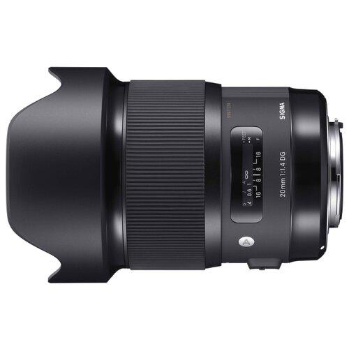 Фото - Объектив Sigma 20mm f 1.4 DG объектив sigma 105mm f 1 4 dg