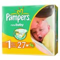 Pampers New Baby 1 (2-5 кг)