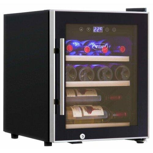 Винный шкаф Cold Vine C12-KBF1 cold vine винный шкаф 33 л на 12 бутылок термоэлектрический серый c12 tsf2 cold vine