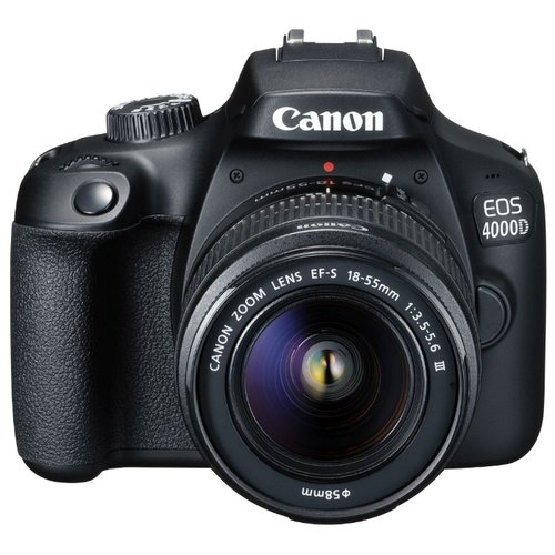 Фотоаппарат Canon EOS 4000D Kit фото