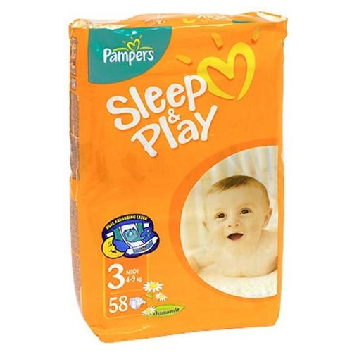 Pampers Sleep&Play 3 (4-9 кг)