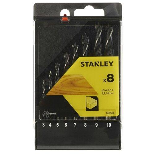 Набор сверл STANLEY STA56006 QZ