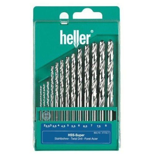 Набор сверл Heller Super Pro