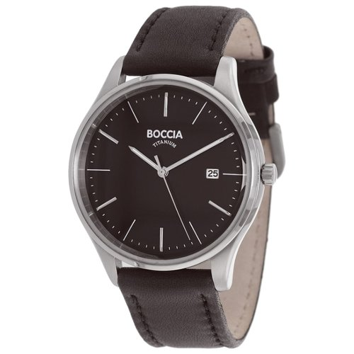 Наручные часы BOCCIA 3587-02 boccia часы boccia 3587 02 коллекция titanium