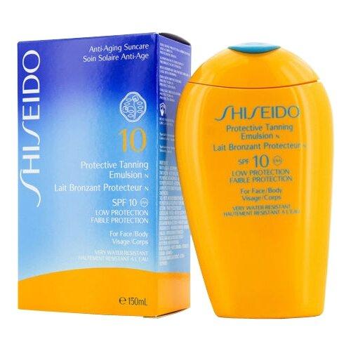 Shiseido Защитная эмульсия для эмульсия shiseido creamy cleansing emulsion