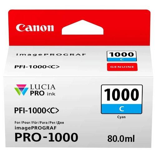 Фото - Картридж Canon PFI-1000C 0547C001 canon pfi 102