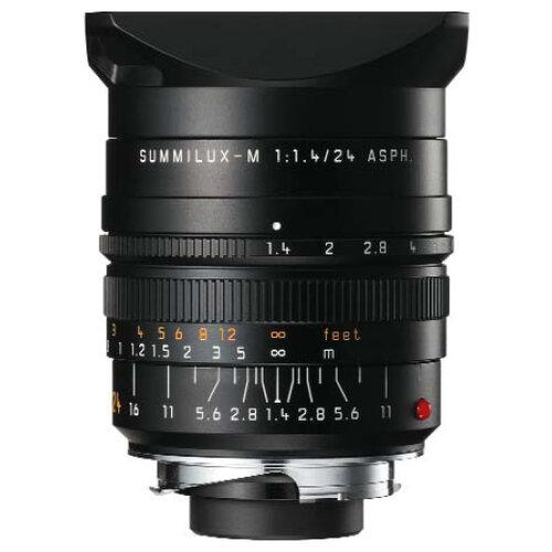 Объектив Leica Summilux-M 24mm кольцо techart pro leica m nex