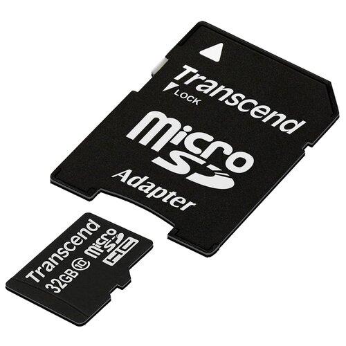 Фото - Карта памяти Transcend TS*USDHC10 карта памяти transcend compctflash 128gb ts128gcf1000