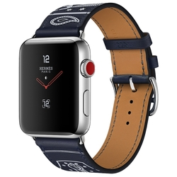 Часы Apple Watch Hermès Series 3 42mm with Single Tour Eperon d'Or