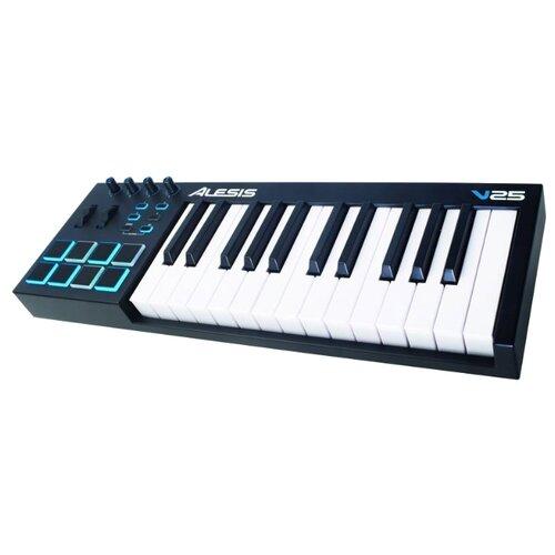 MIDI-клавиатура Alesis V25 настольный барабан alesis samplepad pro