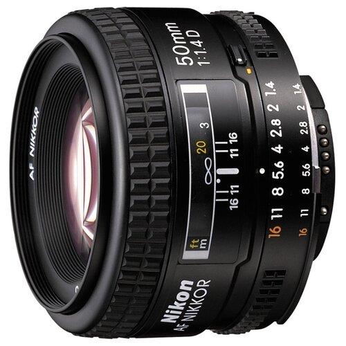 Фото - Объектив Nikon 50mm f 1.4D AF объектив nikon 50mm f 1 4d af