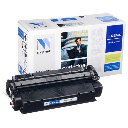 Фото - Картридж NV Print Q2624A для HP картридж nv print cf380x для hp