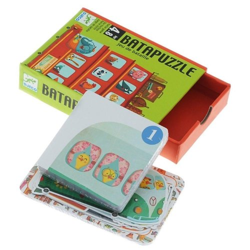 Настольная игра DJECO Карточная игры для малышей djeco детская настольная карточная игра батаваф