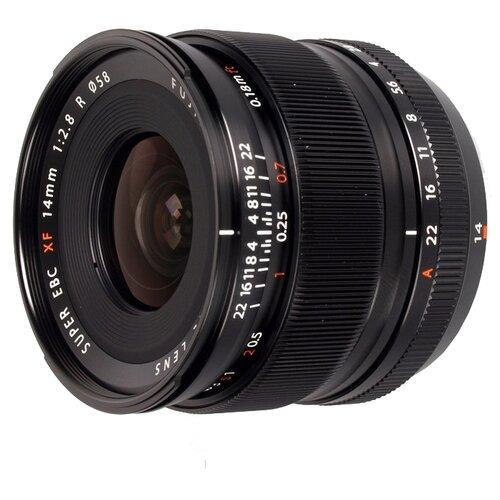 Фото - Объектив Fujifilm XF 14mm f 2.8 R объектив fujifilm fujinon xf 18 mm f 2 r