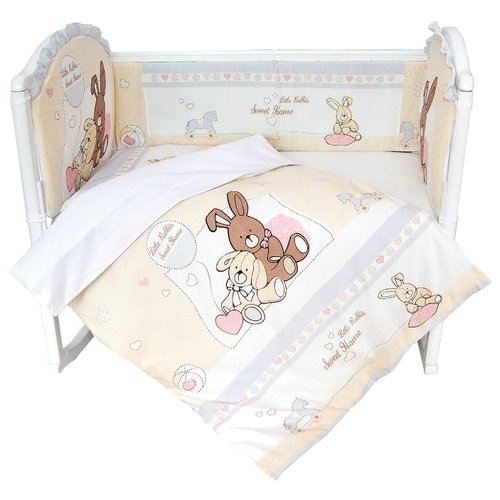 Фото - Baby Nice комплект с бампером аксессуары для колясок baby nice конверт baby nice с меховой подкладкой розовый