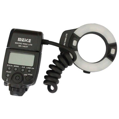 Вспышка Meike MK-14EXT for Canon meike mk 14ext mk 14 ext ettl macro ttl ring flash af assist lamp for canon 5d iii 6d 650d 500d 1000d 450d camera