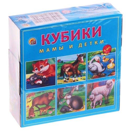 Кубики-пазлы Рыжий кот Мамы и