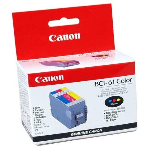 Фото - Картридж Canon BCI-61 Color вольер для животных midwest 8 панелей позолоченный цинк д 61 x в 61 см