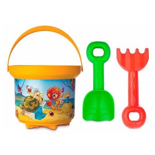 Набор Росигрушка Львёнок и набор игрушек для ванны росигрушка утка и утята