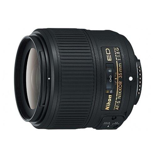 Фото - Объектив Nikon 35mm f 1.8G AF-S объектив nikon 50mm f 1 4d af