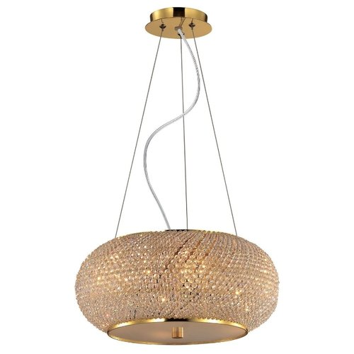 IDEAL LUX Pasha SP6 Oro E14 240 namat светильник ideal lux pasha ap3 oro
