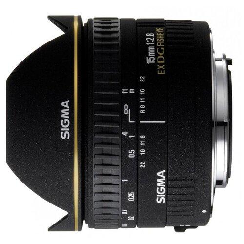 Фото - Объектив Sigma AF 15mm f 2.8 EX объектив