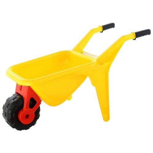 Фото - Тележка Полесье Садовод 4376 полесье игрушечная тележка supermarket 1 с набором продуктов цвет в ассортименте