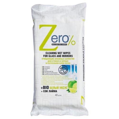 Влажные салфетки Zero% для zero k