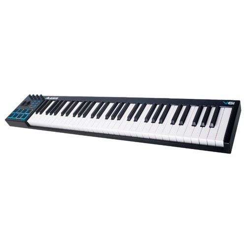 MIDI-клавиатура Alesis V61 настольный барабан alesis samplepad pro
