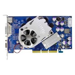 Sparkle GeForce 6600 GT 500Mhz AGP 128Mb