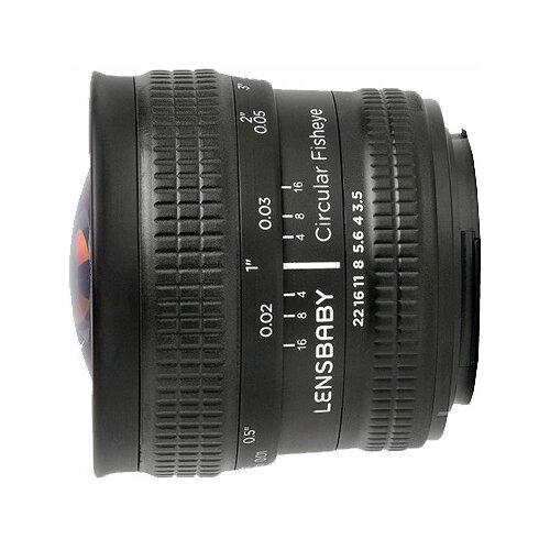 Объектив Lensbaby Circular with объектив lensbaby scout fisheye for nikon lbsfen