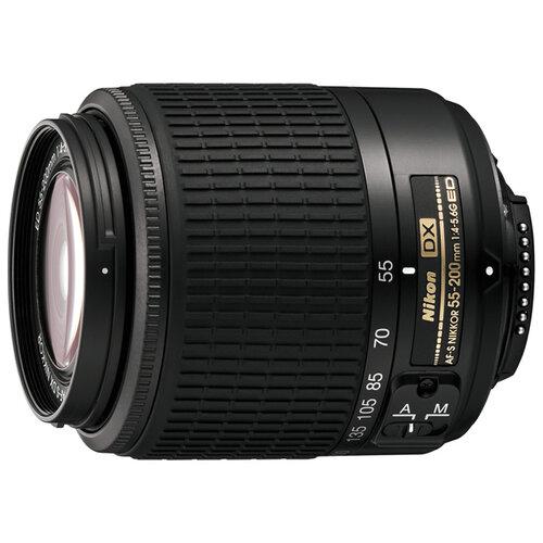 Фото - Объектив Nikon 55-200mm f объектив