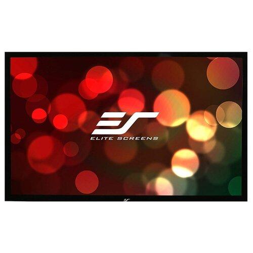 Фото - На раме матовый белый экран экран elite screens tripod t85uws1 152х152 см 1 1 напольный черный