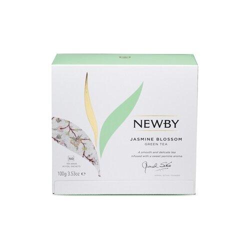 Чай зеленый Newby Jasmine Blossom благовония hem jasmine blossom цветение жасмина 20 палочек