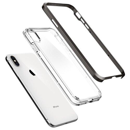 Фото - Чехол Spigen Neo Hybrid Crystal чехол для apple iphone xs max spigen neo hybrid crystal темно серый