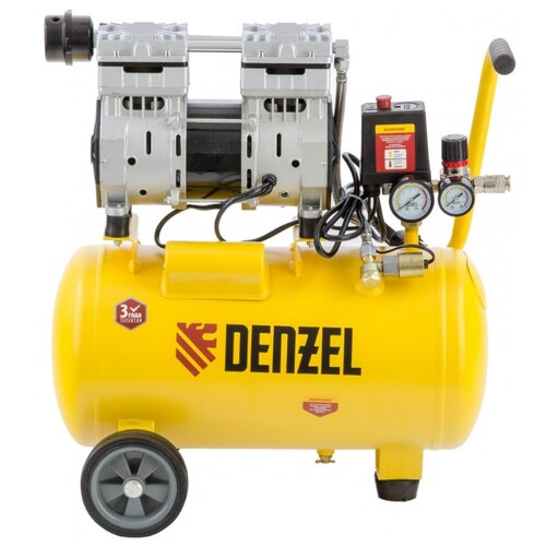 Компрессор безмасляный Denzel дозатор denzel 96306